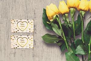Valentine Card Mock-up #21