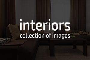 Interiors. Collection of images