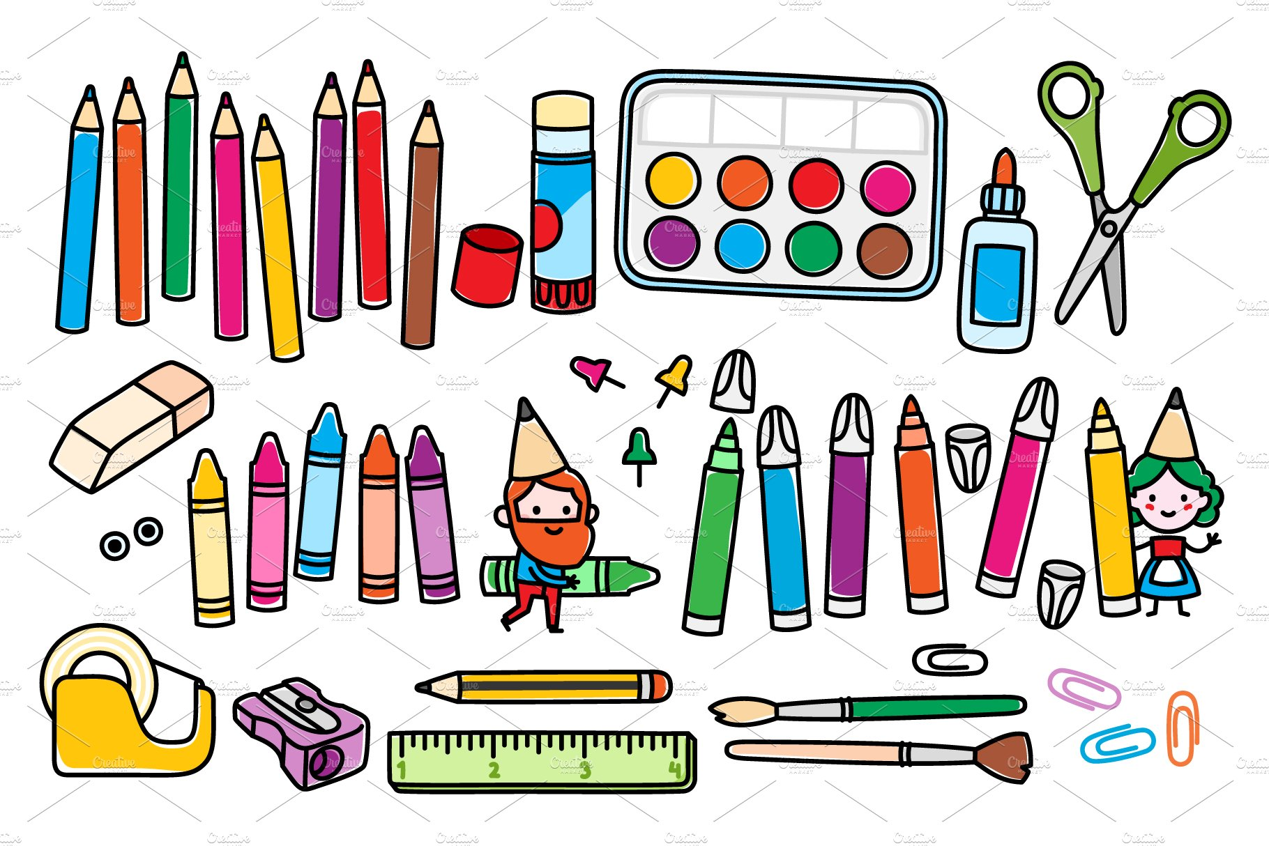 Arts and crafts supplies and gnomes objects creative for Arts and crafts supplies online