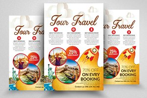 Tour & Travel Agency Flyer Template