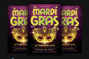 Madri Gras Flyer