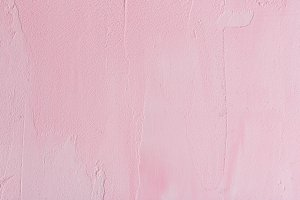 Pink grunge painted texture