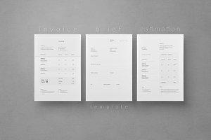 Invoice - Brief - Estimation