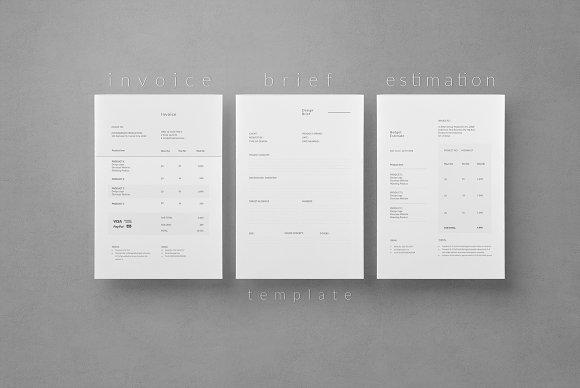 Invoice Brief Estimation
