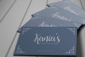 Kania's Fashion Store Loyalty Card