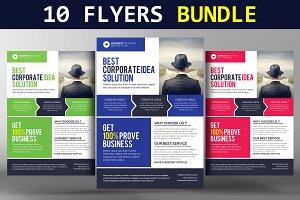 10 Creative Business Flyer Templates