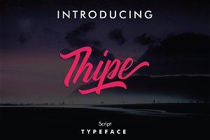 Thipe Typeface