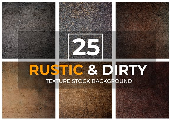 25 Rustic Dirty Texture Background