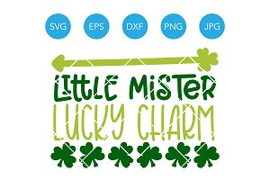 Little Mister Lucky Charm SVG File