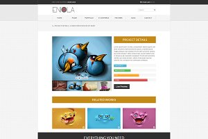 Eniola Multipurpose Resp. Template