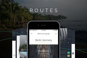 Routes iOS UI Kit