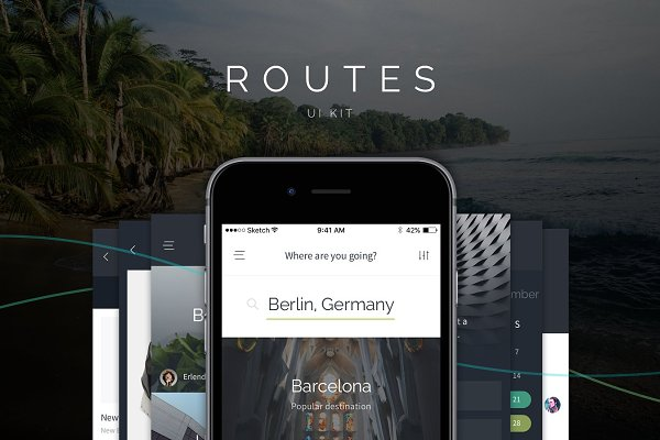 Routes iOS UI Kit