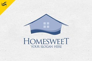 Homesweet Logo Template