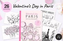Valentine's Day in Paris+PDF book