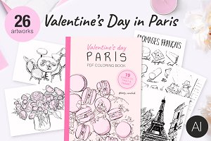 Valentine's Day in Paris+PDF book