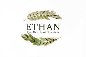 Ethan Serif 8 Font Family Pack