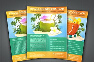 Travel Agency Flyer Leaflet