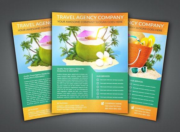 Travel Agency Flyer Leaflet