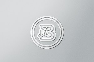 BL / LB monogram