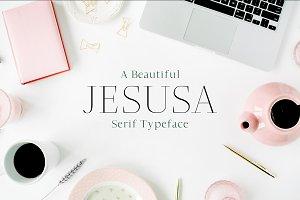 Jesusa Serif 2 Font Family Pack