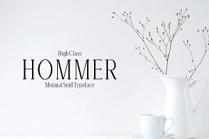 Hommer Minimal Serif Font Family