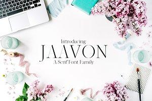 Jaavon Serif 2 Font Family