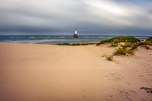 Rattray Head Lighthouse in Scotland