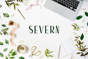 Severn Sans Serif 4 Font Family