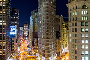 Flatiron Building in the Night