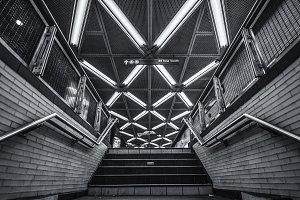 Fulton Street Subway Station