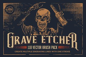 Grave Etcher | Engraving Brushes