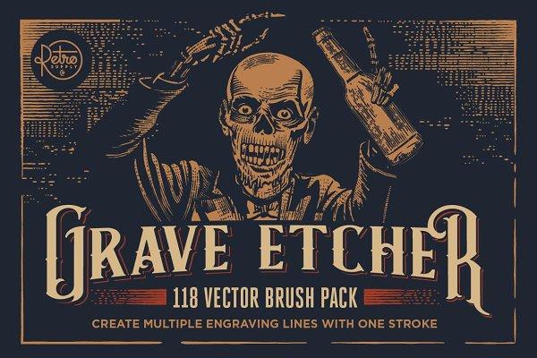 Grave Etcher | Engraving Brushes