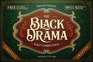 Black Drama Duo + Extras