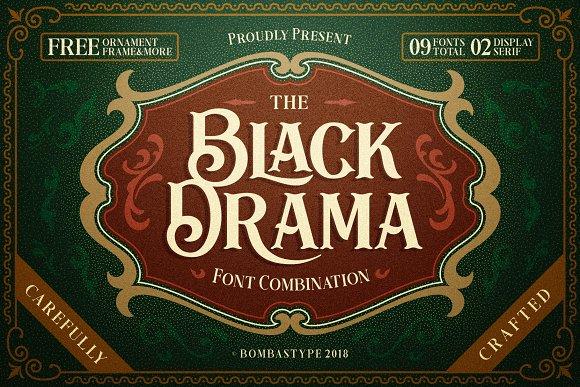 Black Drama Duo Extras 30% OFF