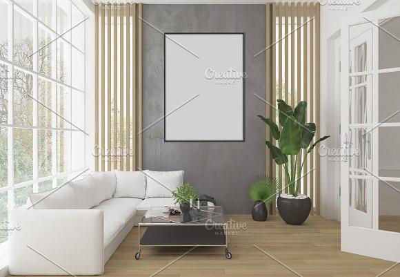 Interior Mockup Artwork Background