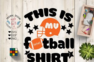 This is my Football Shirt Cut File