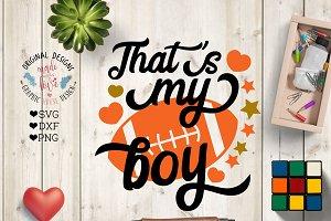 That's my Boy American Football