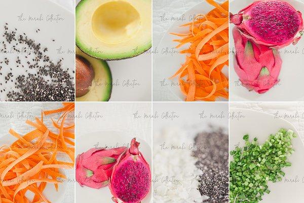 Fresh Fruit & Veggies Stock