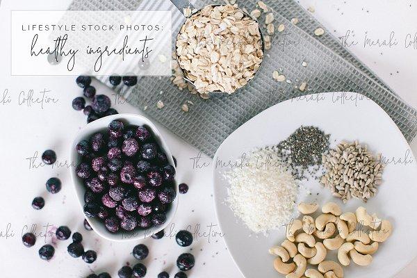 Healthy Food Stock Photo Bundle