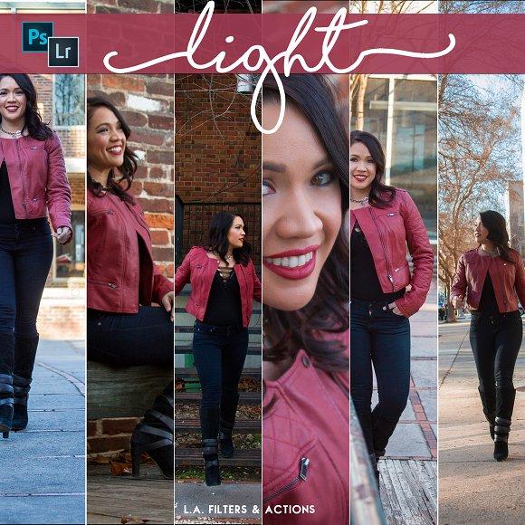 Light PS LR Preset