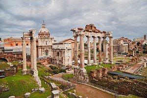 Italia, Rome, Forum