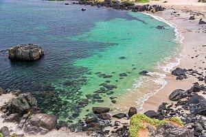 Turquoise Water at Bahia Inglesa
