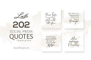 Latte 202 Social Media Quotes