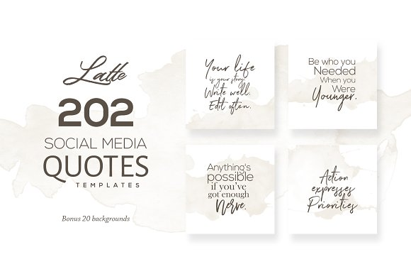 35 Ready-to-Post Social Media Quote Packs ~ Creative