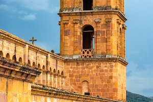 Barichara Cathedral Tower