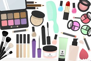 Makeup Clipart Collection
