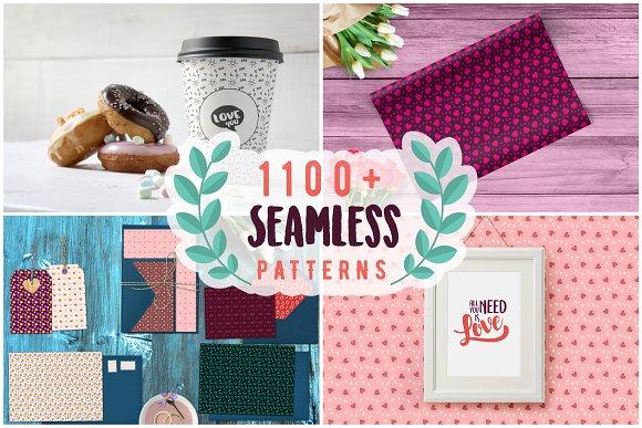 1100+ Seamless Lovely Patterns
