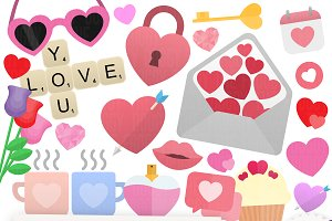 Valentines Clipart Collection