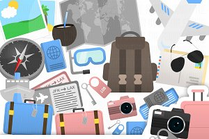 Travel Clipart Collection