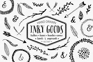 Inky Goods Vector Graphics